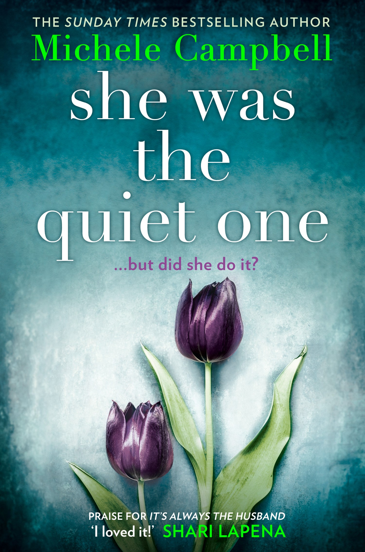 She Was the Quiet One, by Michele Campbell, UK Edition